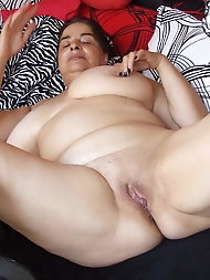 Mature grandmothers with dripping vagina