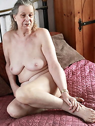 Sexy-shaped older housewife for any taste