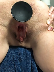 Amateur mature tarts are covered with cum