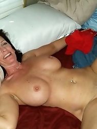 Scorching and horny grannie loves a superb pummeling