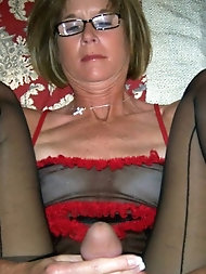Lustful mamas having ideal breasts