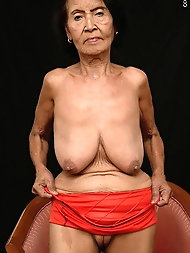 Chinese grandmother Linsi.