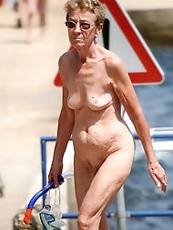 Granny and provocative older dolls picture mashup