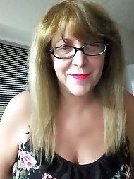 Alice super-naughty blonde with Glasses mature first-timer milf spectacular grandmother