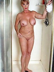 Shower-time with granny